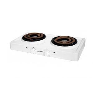 Электрическая плита Злата 214T, 2000 Вт, White, black