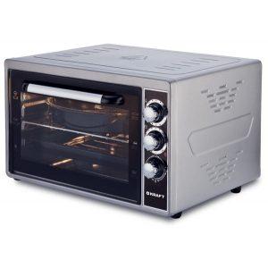 Мини-печь Kraft KF-MO 3801, White, Grey, 38 л, 1500 Вт