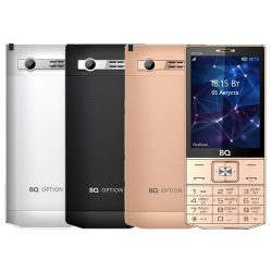 Телефон BQ BQ-3201 Option Black, Silver, Gold