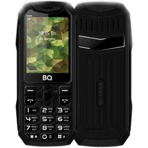 "Телефон BQ BQ-2428 Tank 2.4"" 2SIM, Fm, Black, Green, Blue"