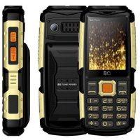 "Телефон BQ BQ-2430 Tank Power 2SIM, 2.4"", 4000mAh, Black-Silver, Black-Gold, Camouflage-Gold, Camouflage-Silver, Green-Silver"