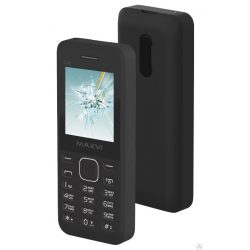 "Телефон Maxvi C20 2Sim, 1.77"" Black, Blue, Red, White (без сзу в комплекте)"