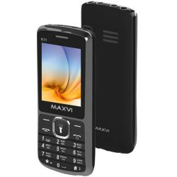 Телефон Maxvi K11 Black, Brown, Gold, Marengo, Silver