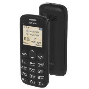 Мобильный телефон Maxvi B1 Black, White, Blue, Red