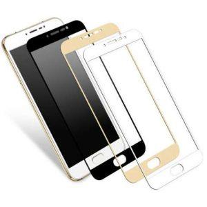 """Защитное стекло Xiaomi Redmi 4A 5"""" 3D Black, White, Gold"""