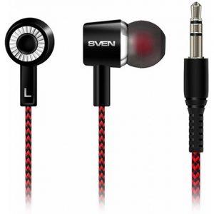 Наушники Sven SEB-108 вакуумные Black-red