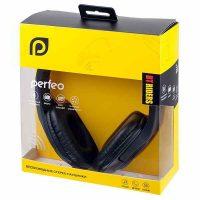 Наушники Bluetooth Perfeo PF-BT-006 Riders Fm, microSD Black