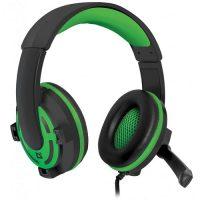 Наушники игровые Defender Warhead G-300 black-green, кабель 1,8 м