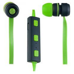 Наушники Bluetooth Perfeo PF-BTS-RGN/BLK Sound STRIP Wireless, микрофон вакуум. Green