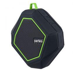 Портативная колонка Perfeo PF-5208 TRIBUTE Bluetooth FM, MP3 microSD, AUX, мощность 6Вт, 1000mAh
