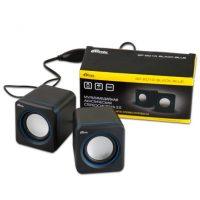Колонки Ritmix SP-2010 2,0 5Вт Black-Blue