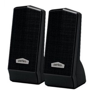 Колонки Perfeo PF-601 CURSOR USB 2.0 6Вт Black