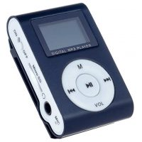 MP3 плеер Perfeo Music Clip Titanium Display VI-M001-Display  Black, Silver, Green, Magenta, Blue