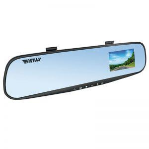 """Видеорегистратор Artway AV-610 HD, 2,4"""", зеркало заднего вида"""