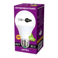 Светодиодная лампа LED Perfeo PF-A60 12W 220V 3000K E27