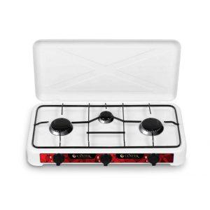 Газовая плита Centek CT-1522, White