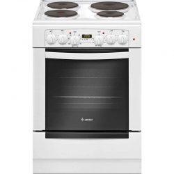 Электрическая плита Gefest 6140-03, электрическая духовка, белый, коричневый