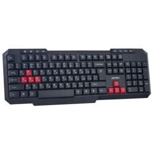 Клавиатура игровая Perfeo PF-006 COMMANDER Multimedia, Black