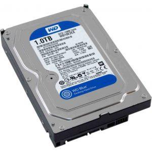"""Жесткий диск Western Digital Caviar Blue 3.5"""" 1.0Tb, SATA III, 64 Mb, 7200 rpm, WD10EZEX"""