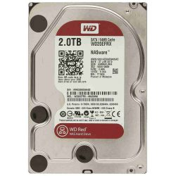 "Жесткий диск Western Digital WD20EFRX 3.5"" 2.0 Tb Red SATA III, IntelliPower, 64Mb, 6Gb/s"