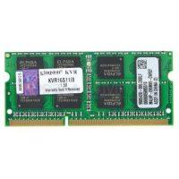 Модуль оперативной памяти Kingston SO-DIMM DDR3 8Gb pc-12800 KVR16S11/8