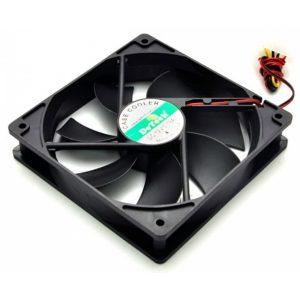 Вентилятор DeTech 120мм 4 pin black