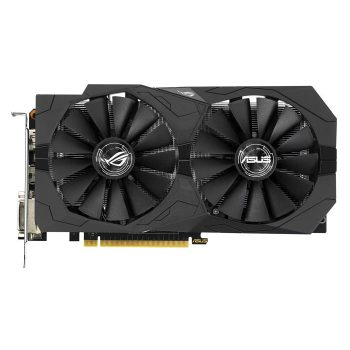 Видеокарта ASUS GeForce GTX 1050, STRIX-GTX1050-O2G-GAMING, 2048 Mb, 7008 Mhz, 128 bit