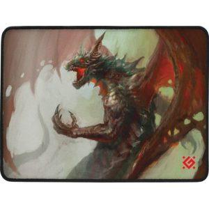 Игровой коврик для мыши Defender Dragon Rage M 360x270x3 мм, ткань+резина