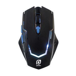 Игровая мышь Perfeo PF-1731-GM STRAFE, LED 6 кнопок, 3200 dpi, Black