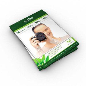 Фотобумага Perfeo A4 190 г/м2 глянцевая 50л (PF-GLA4-190/50)