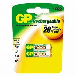 Аккумулятор GP AAA1000mAh/2BL