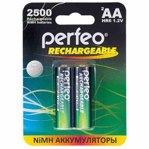 Аккумулятор Perfeo AA2500mAh/2BL