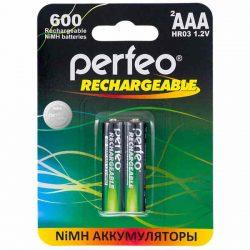 Аккумулятор Perfeo AAA600mAh/2BL