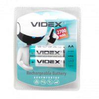 Аккумулятор Videx R06/2bl 2700 mAh Ni-MH (2/20/200)