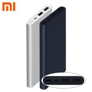 Внешний аккумулятор Xiaomi Mi Power Bank 2i 10000 mAh Black, Silver