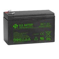 Аккумулятор BB Battery BC 7-12, 7V 12Ah, 151x94x65 мм, гарантия 6 мес.