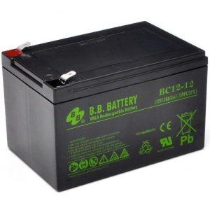 Аккумулятор BB Battery BC12-12, 12V 12Ah, 151x98×94 мм, гарантия 6 мес.