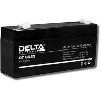 Аккумулятор Delta DT 6033, 6V 3,3Ah, 134х34х61мм, 0,65 кг гарантия 1 мес.