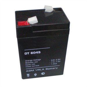 Аккумулятор 6V, 4,5Ah, для торговых весов 70х47х101мм