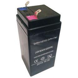 Аккумлятор 4V, 4Ah, для торговых весов 47х47х101мм