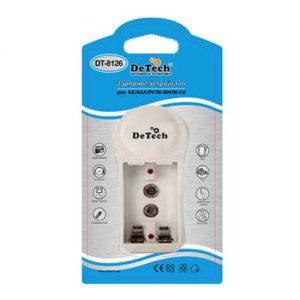 Зарядное устройство DeTech DT-8126 для AA/AAA/9V/Ni-MH/Ni-Cd