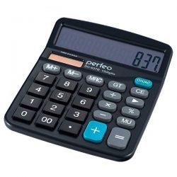 Калькулятор Perfeo DC-837B 12-разрядный Black