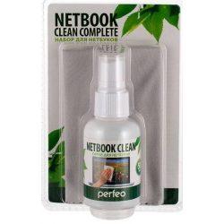 Чистящий набор Perfeo PF-S+T/MFSL NETBOOK CLEAN COMPLETE Спрей 50мл + салфетка микрофибра 18х18см