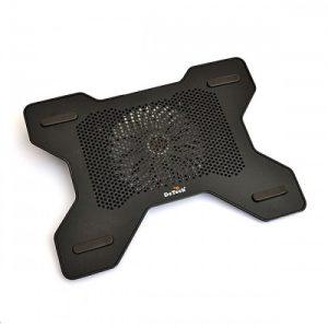 """Подставка для ноутбука DeTech X6 15"""" черная"""