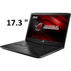 "Игровой ноутбук ASUS ROG GL703VD SCAR Intel i7 7700HQ/8GB/1TB + 128GBSSD/No ODD/17,6"" FHD Anti-Glare IPS/GeForce GTX 1050 4GB/Win10"