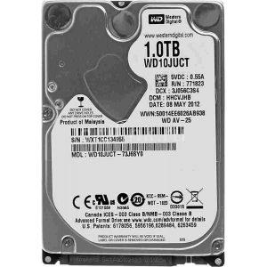 """Жесткий диск Western Digital WD10JUCT 2.5"""" 1.0Tb SATA II, 16 Mb, 5400 rpm WD Original"""