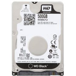 "Жесткий диск Western Digital WD5000LPLX 2.5"" 500Gb SATA III, 32 Mb, 7200 rpm WD Caviar Black"