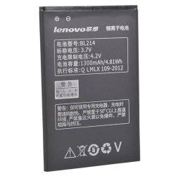 Аккумулятор Lenovo BL-214 A269i, A269,  A218t,А300t, А316, А316i, A208t, A305E,1300mAh