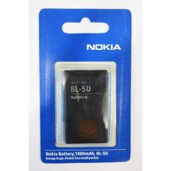 Аккумулятор Nokia BL-5U 3120 classic, 5250, 5330 Xpress Music, 5730 Xpress Music,6 212 classic, 6216 classic, 6300i, 6600 slide, 6600i slide, C5-03, E66, E75