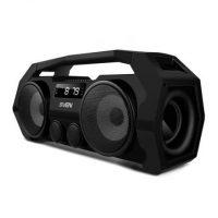 Колонки Sven PS-465, порт. акустика , встр.аккум., FM-тюнер, USB, microSD, Bluetooth, мощность 2х9, чёрный